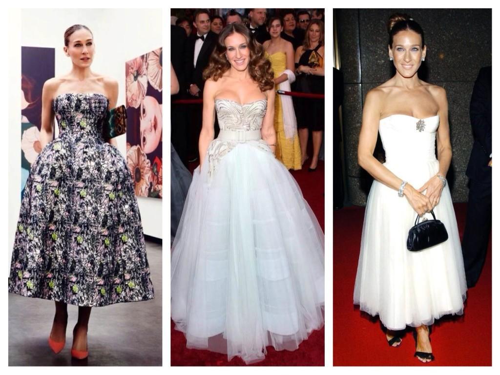 Платья Dior выбор Сары Джессики Паркер