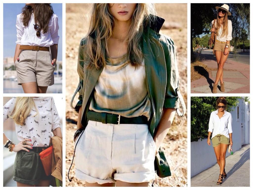 бермуды и шорты