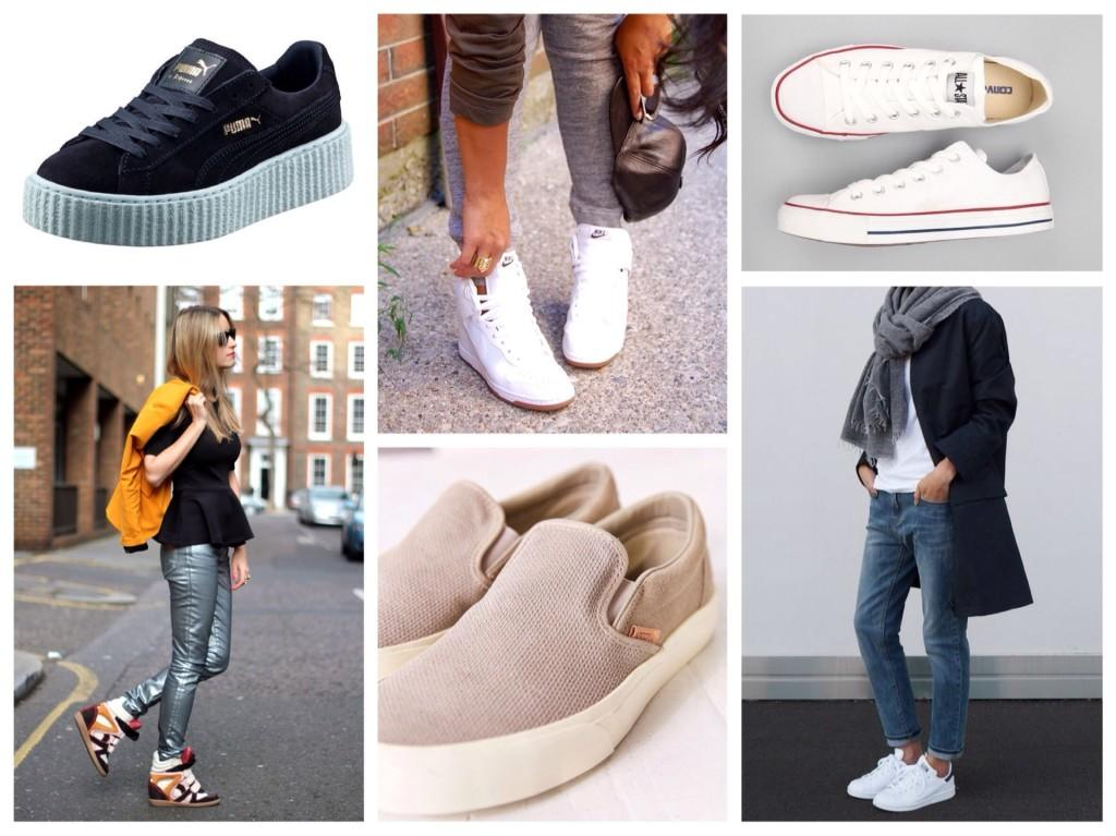 Удобная обувь для составления комплектов