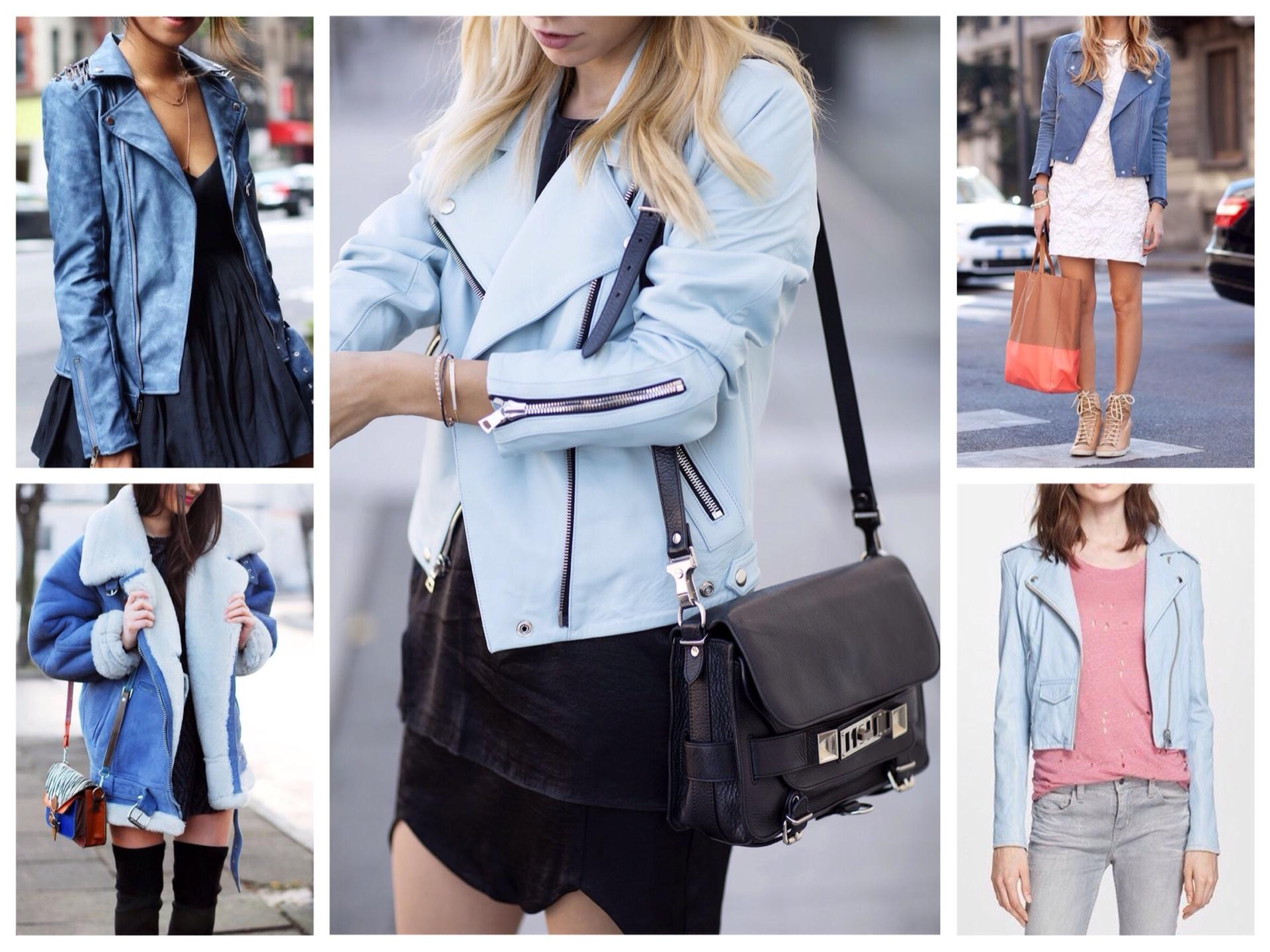 любая голубая куртка с чем носить фото учесть при выборе