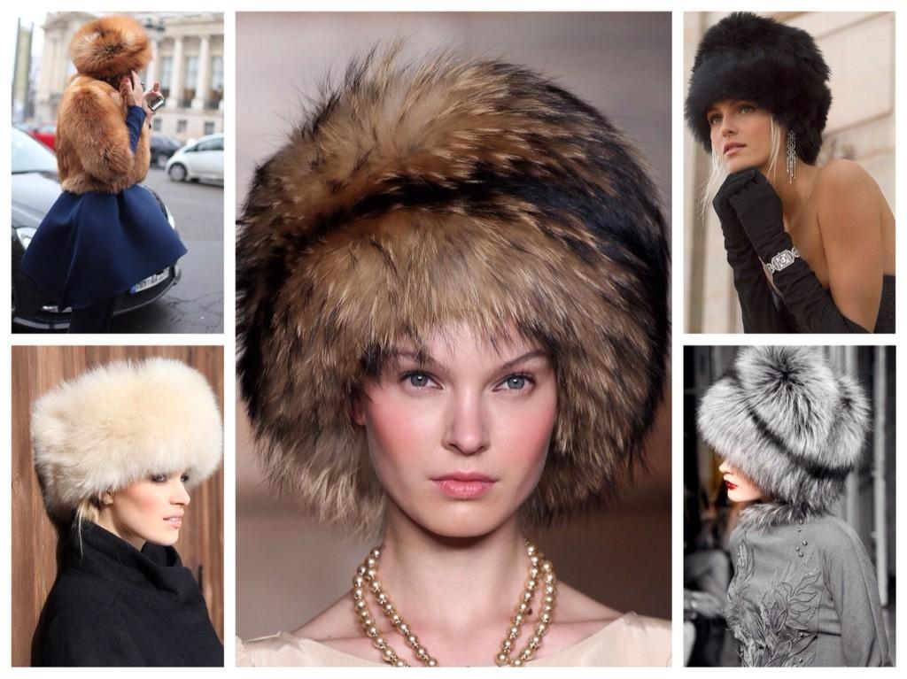 меховые модели шапок