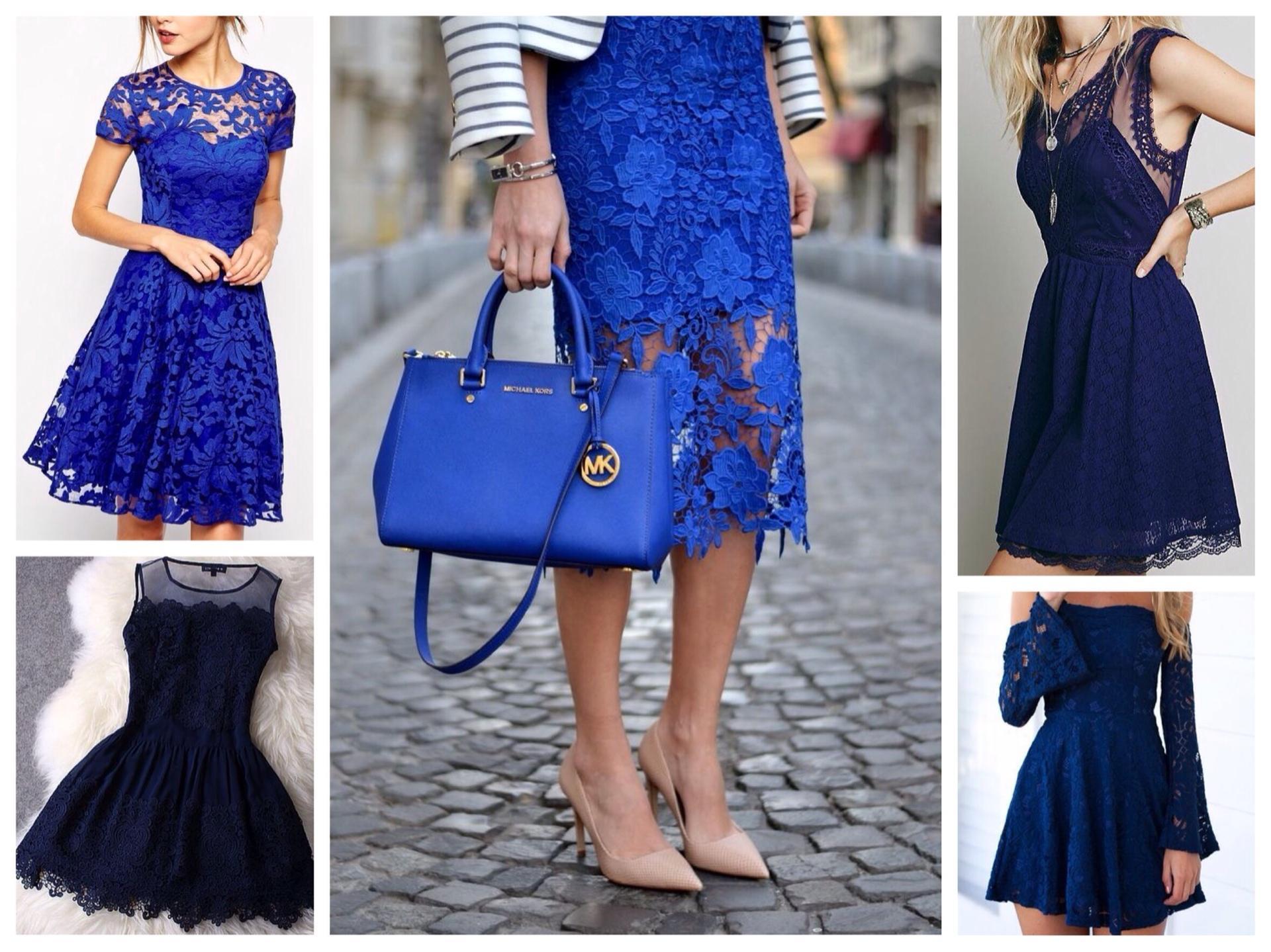 темно синее платье с чем носить фото мобильной версии
