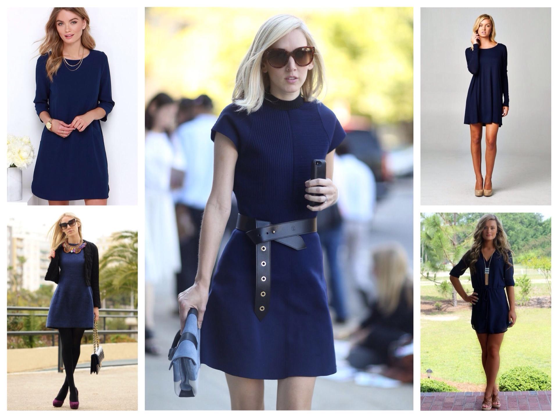 этом что носить с синим платьем фото нравились добрый юмор
