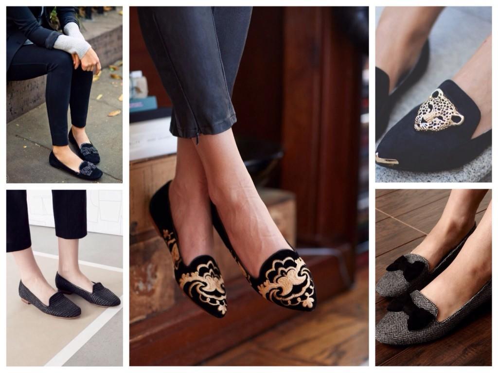 Отделка обуви слиперов