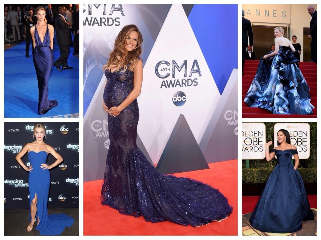 Звезды в синих платьях