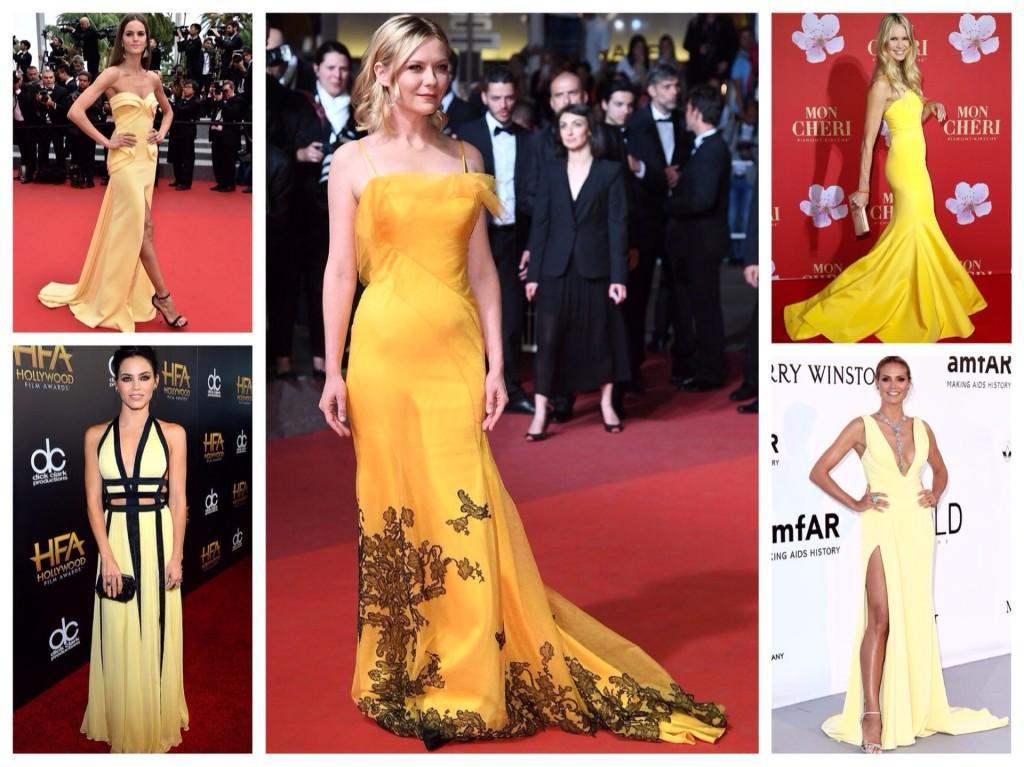 Звезды в желтых платьях