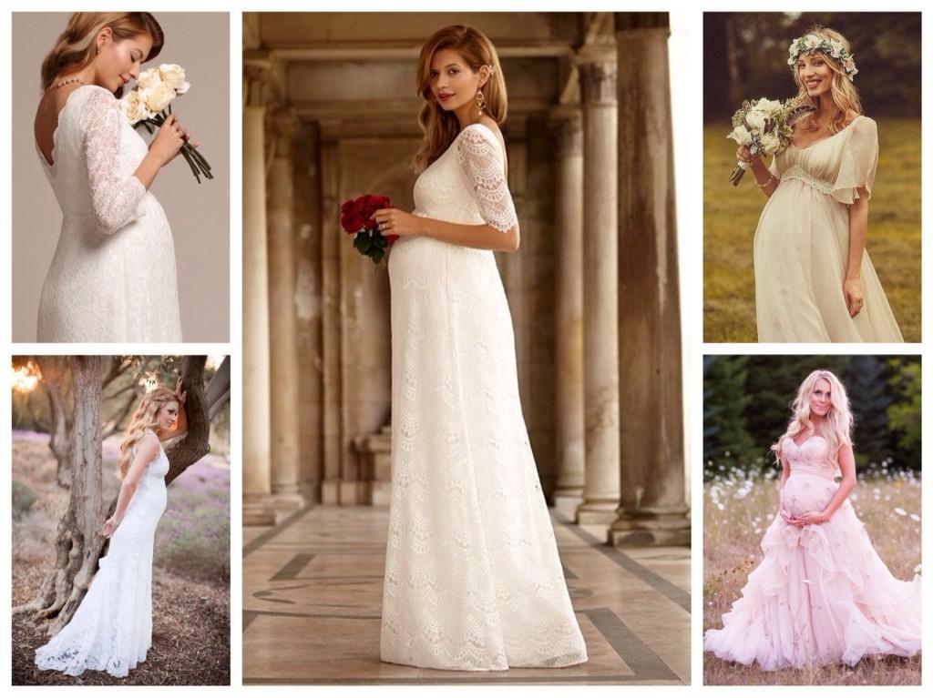 платье ампир для свадьбы