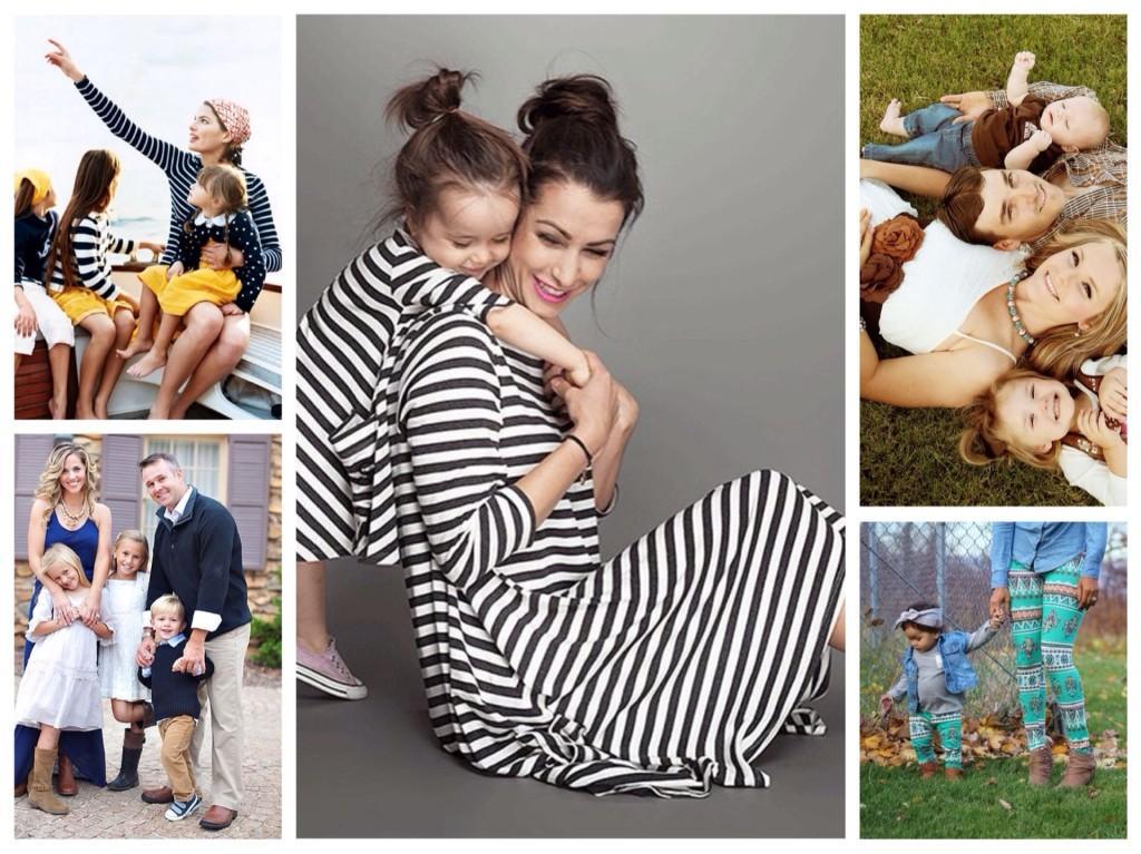 одежда для членов семьи family look