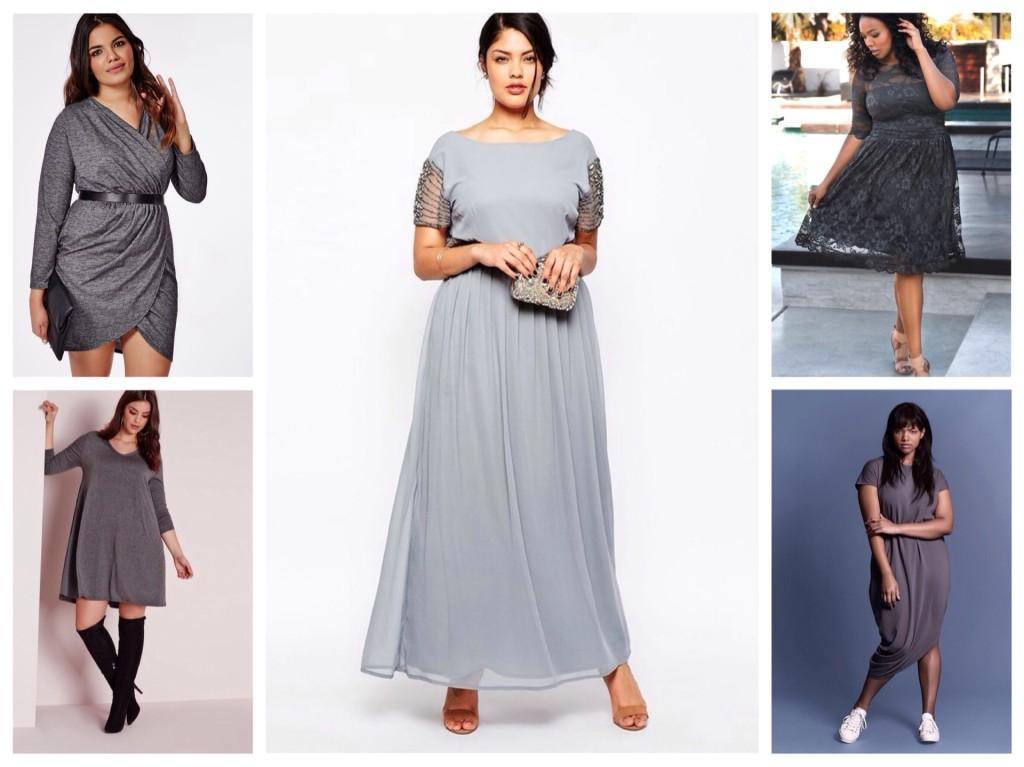 модели платьев для полных