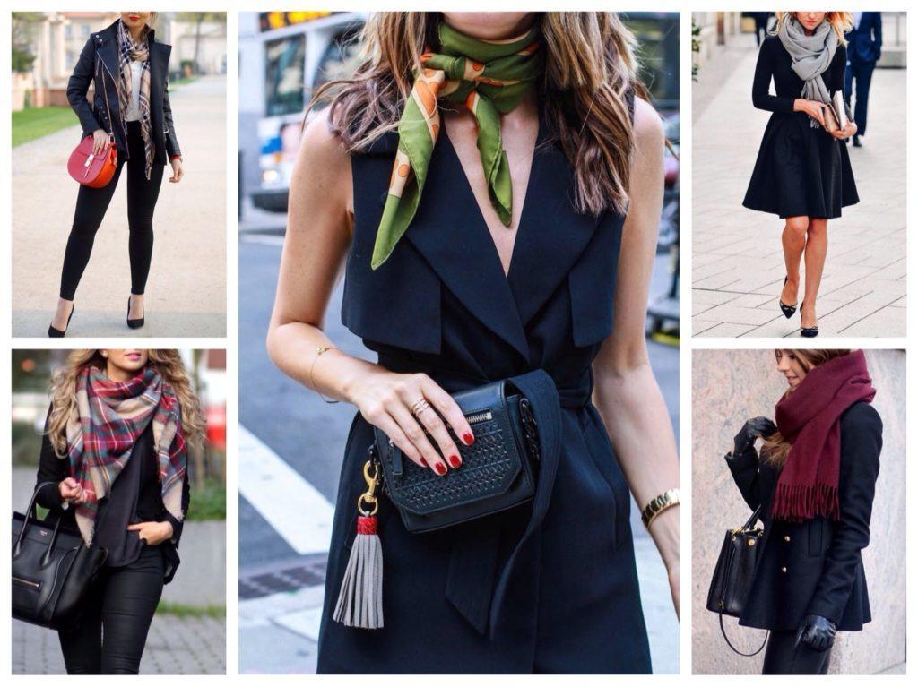 аксессуары к черной одежде