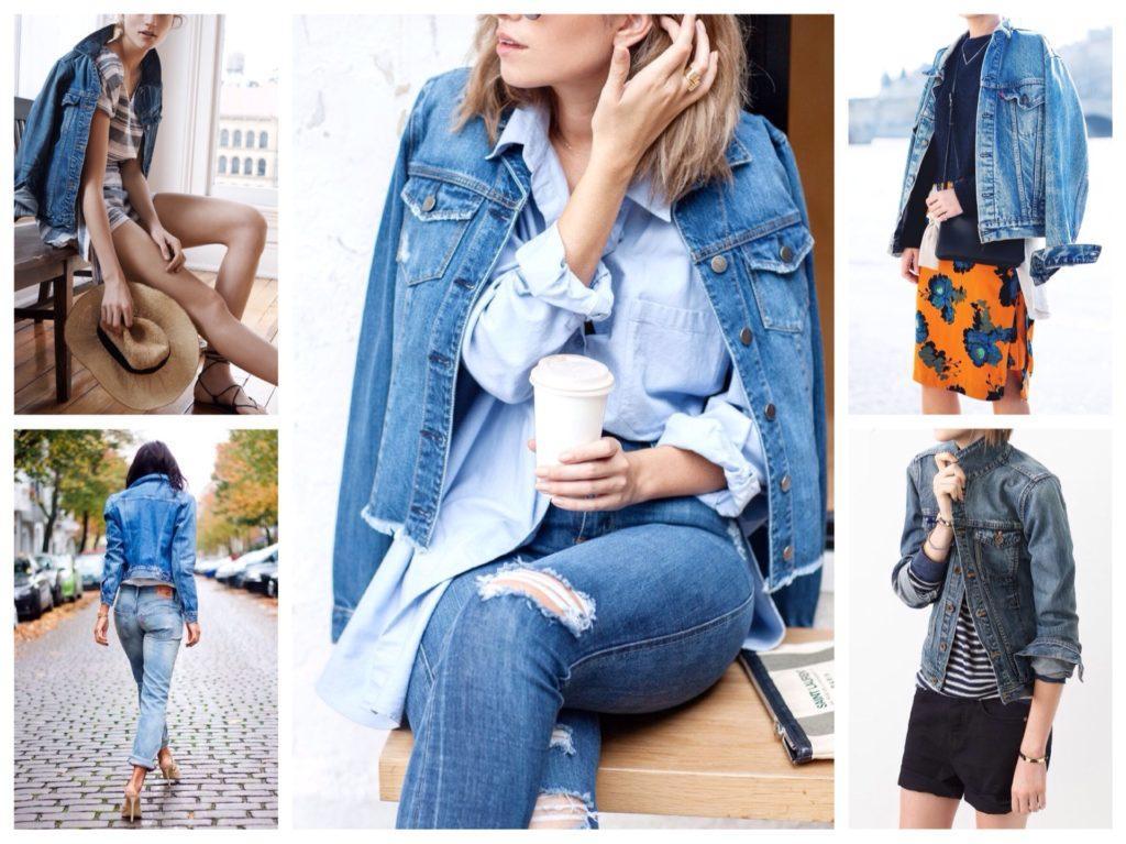 образы с джинсовой курткой