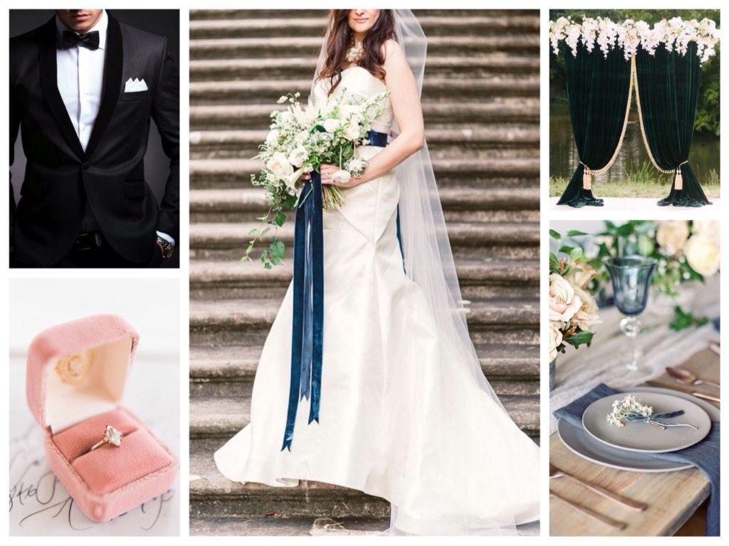 бархат и свадьба