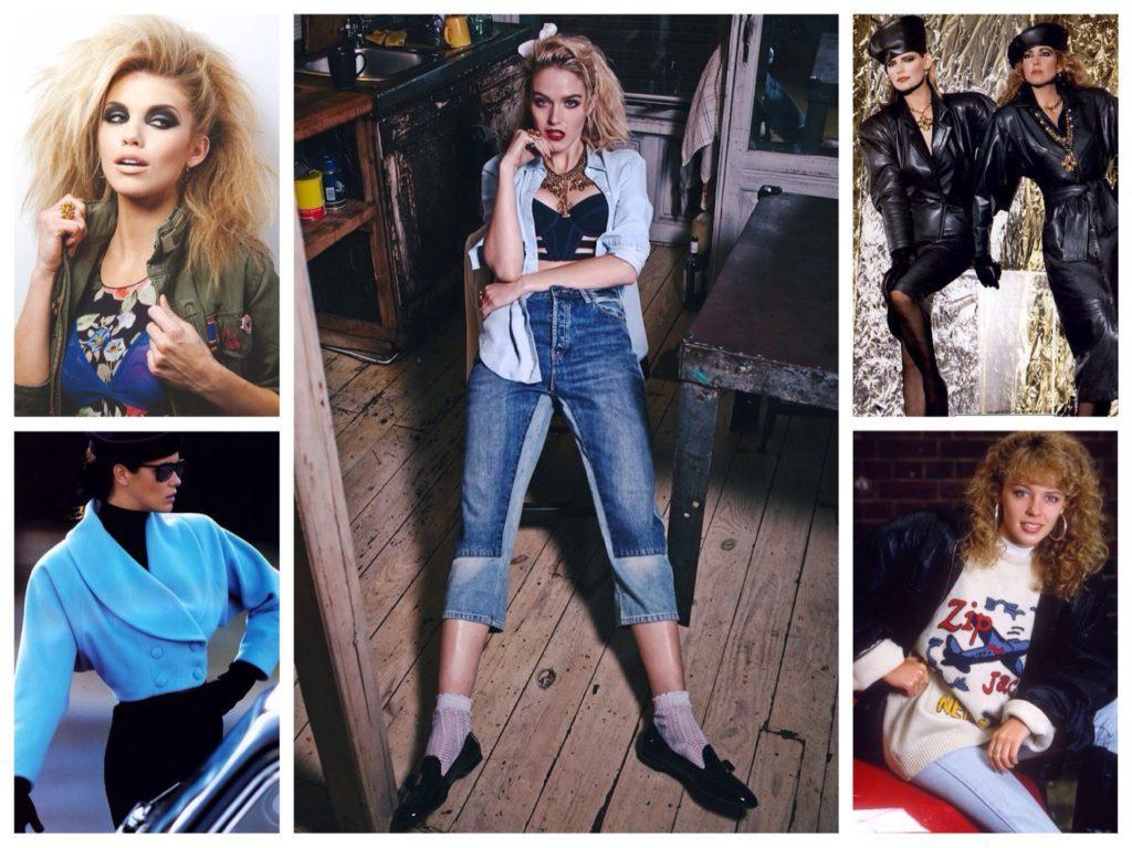 234efd01 Стиль в одежде 80-х годов: фото, основные черты