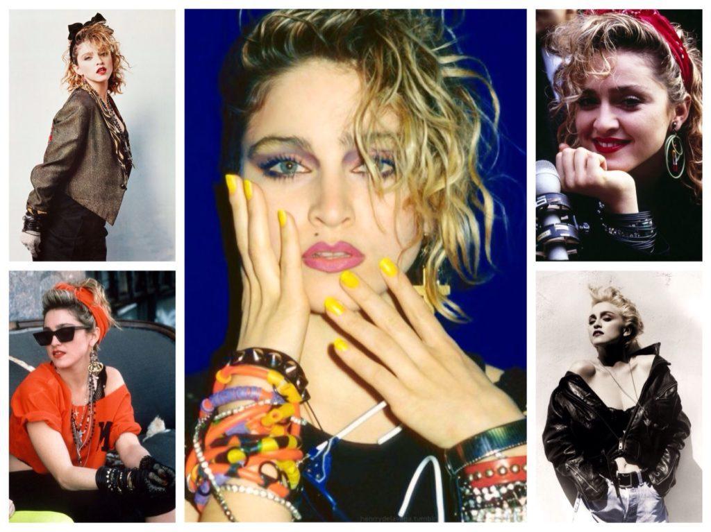 Мадонна 80х годов