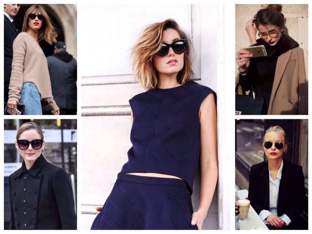 очки в парижском образе
