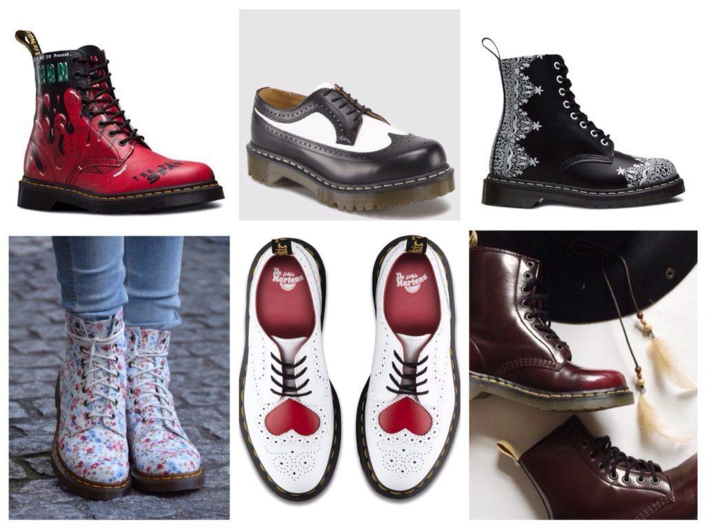 ассортимент ботинок