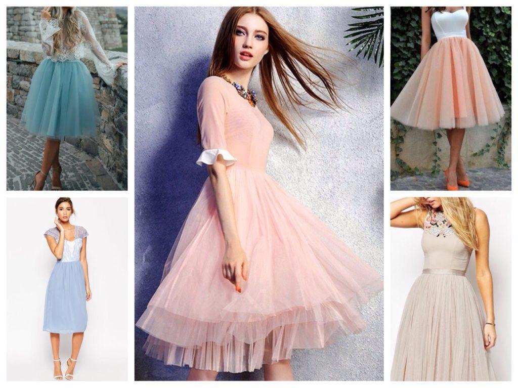 пышные бальные платья