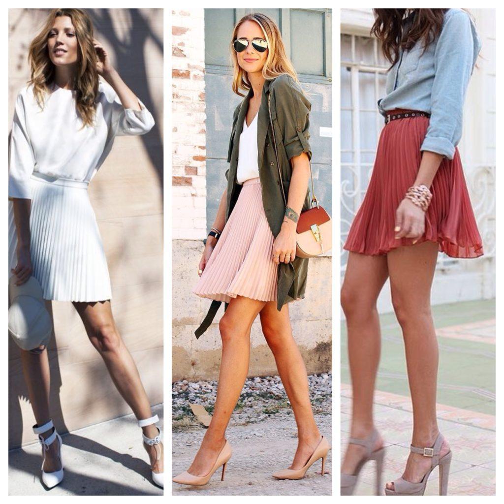 юбки средней длины