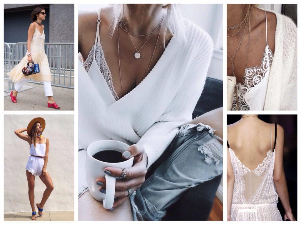 бельевой стиль в белых и кремовых оттенках