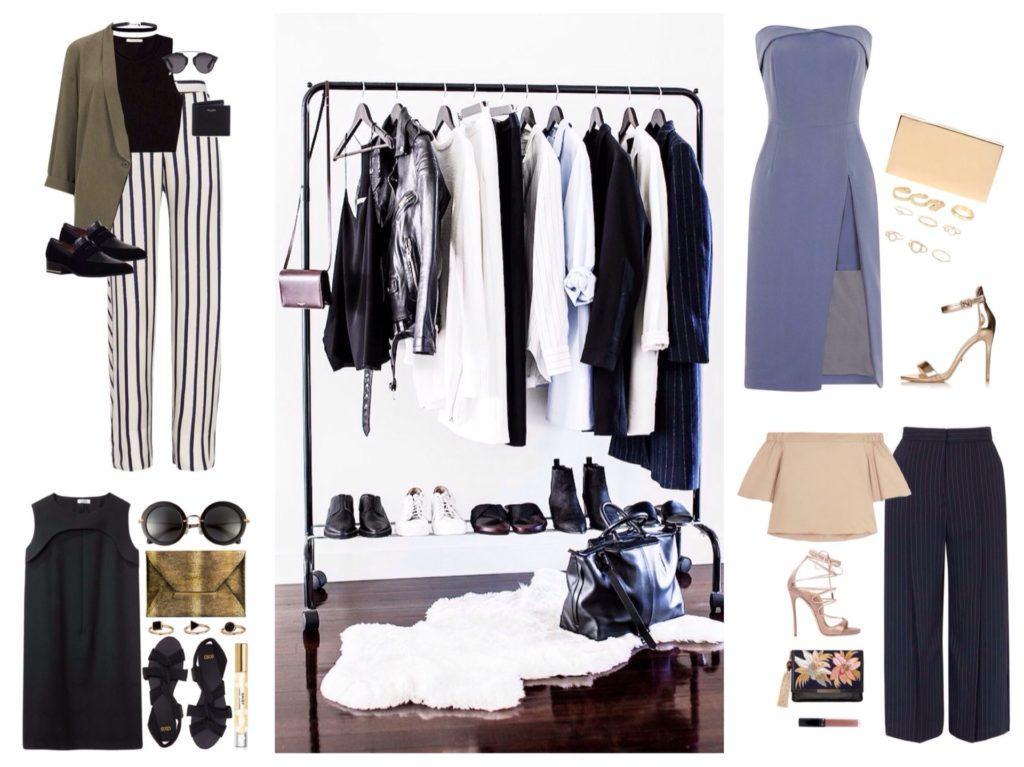 идеи вечерней капсулы одежды