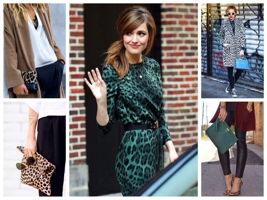 леопардовый принт в одежде и аксессуарах
