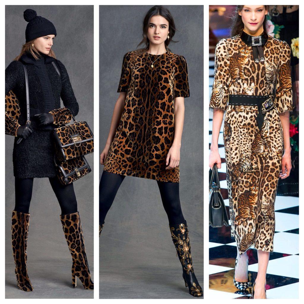 образы от кутюр леопардовый принт