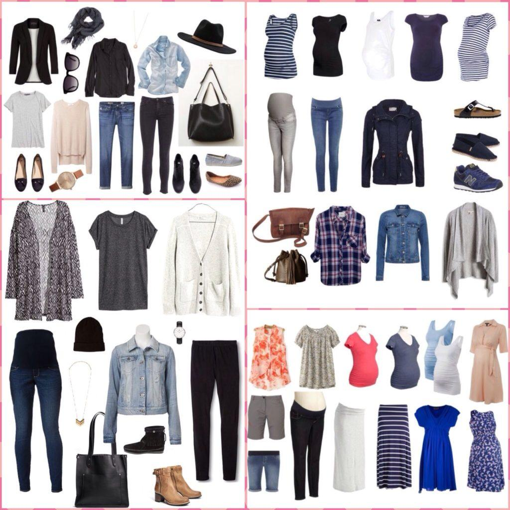 примеры капсул одежды для беременных