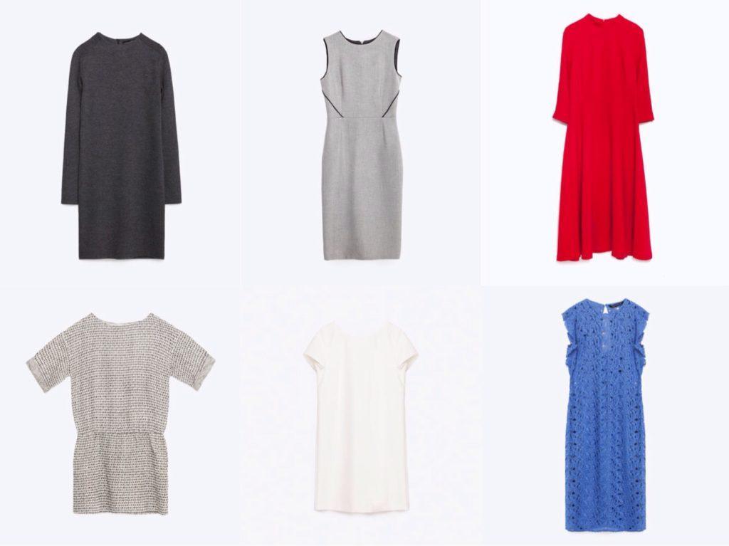 Модели базовых платьев