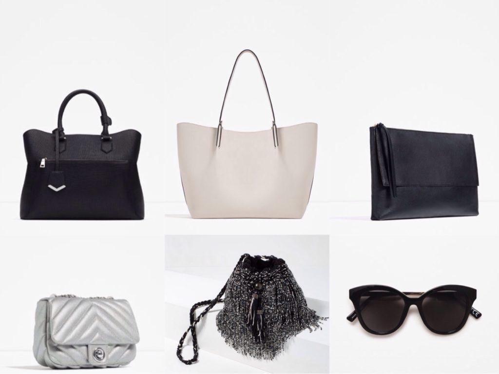 базовые сумочки и аксессуары