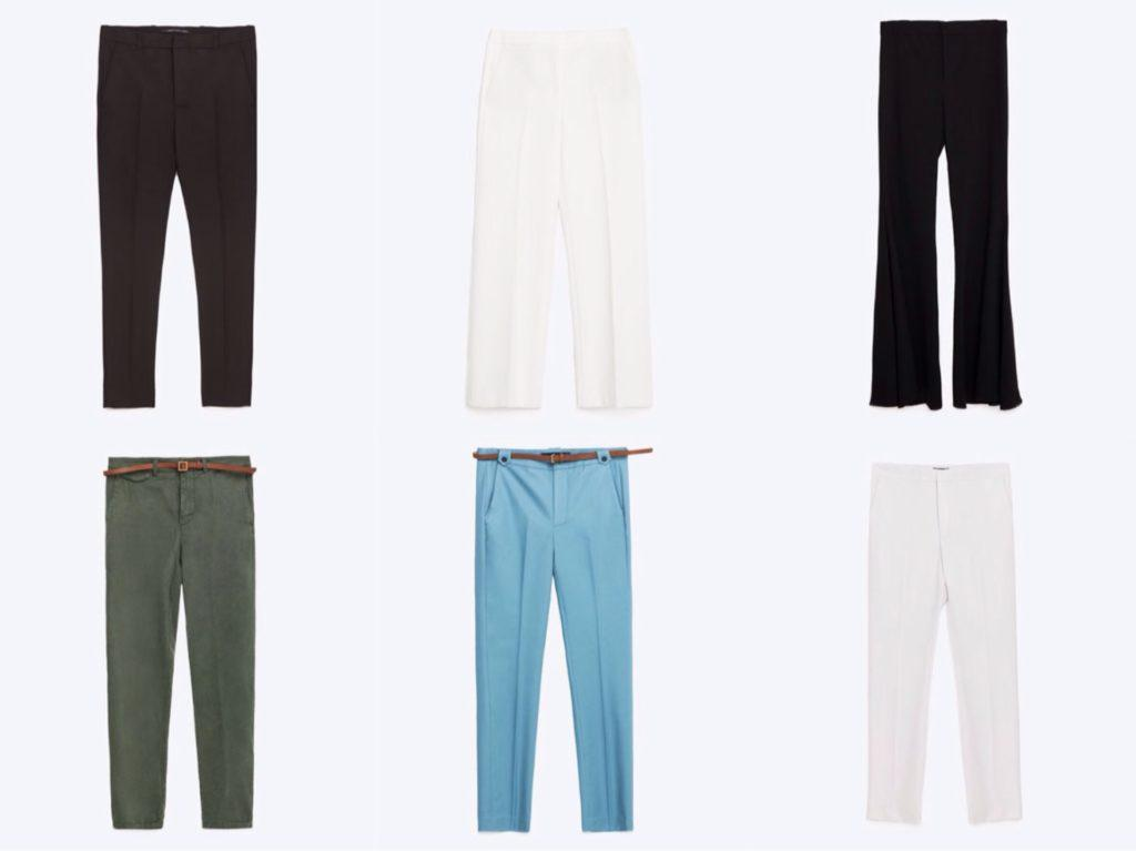 брюки для различных сезонов