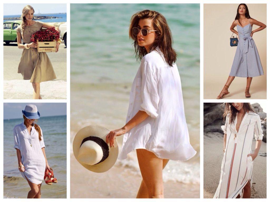 модели для пляжного отдыха