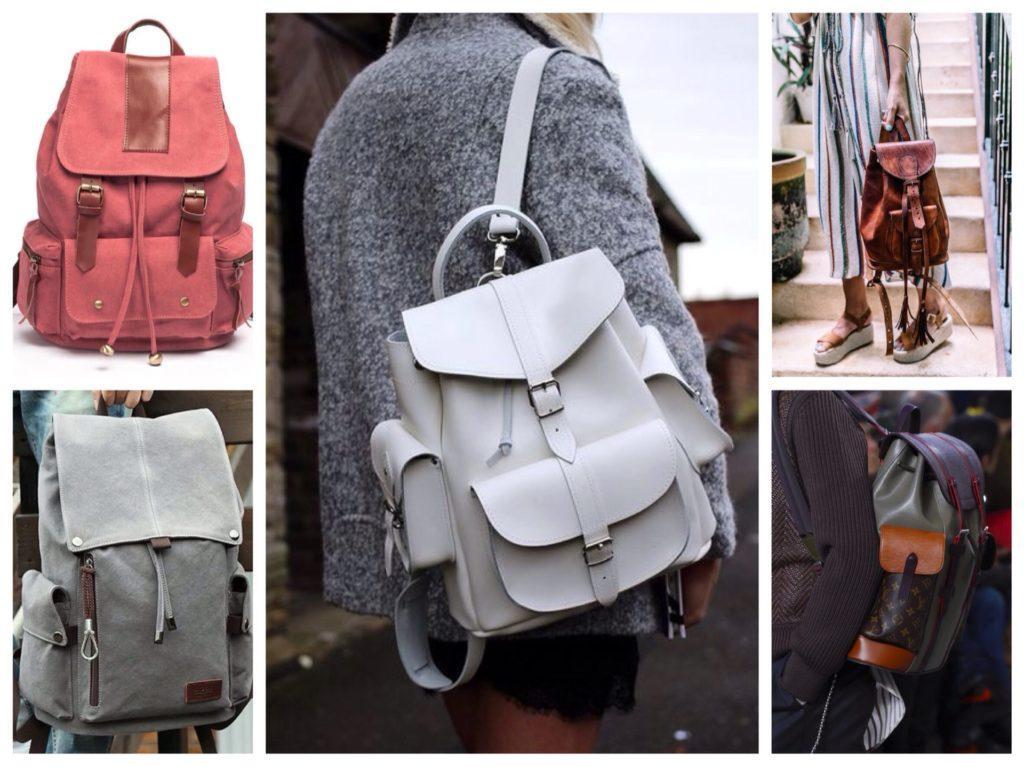 рюкзаки с карманами