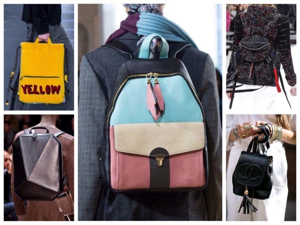 рюкзаки различных форм