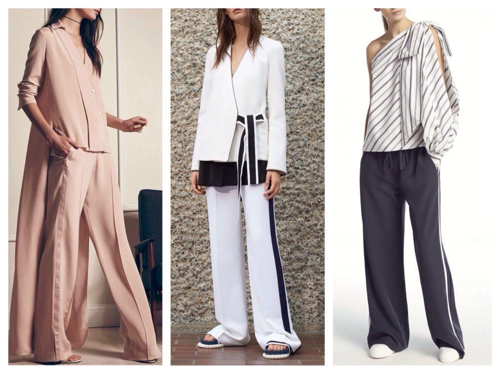 Струящиеся модели брюк