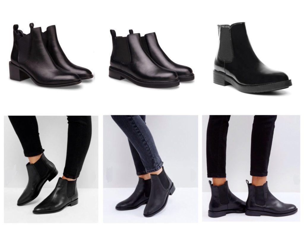 ботинки челси варианты