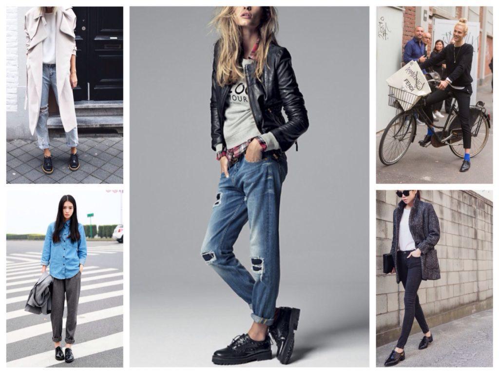 ботинки в образах street style