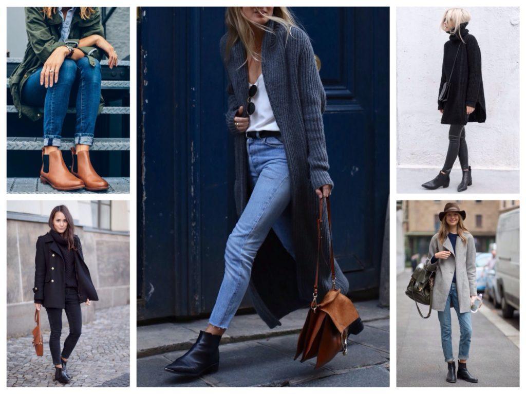 челси с джинсами