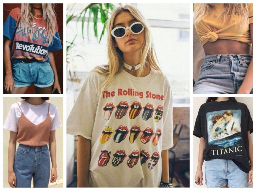 футболки 90е