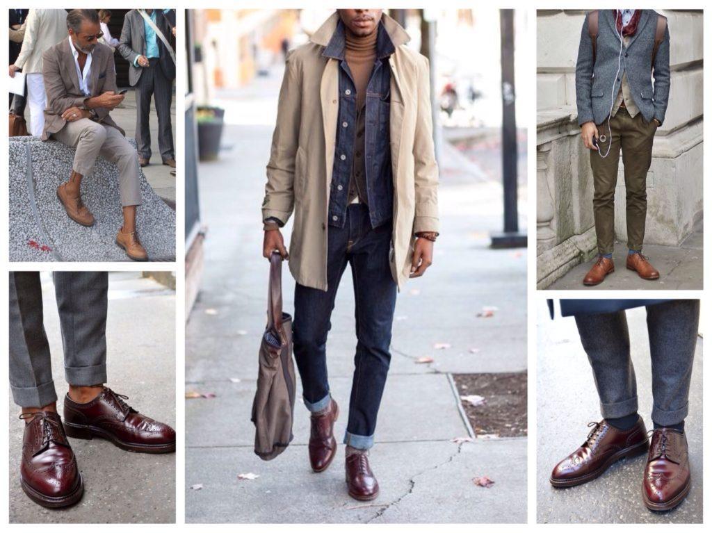 мужские ботинки броги