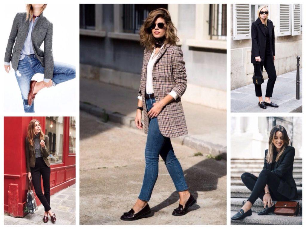 пиджаки и лоферы
