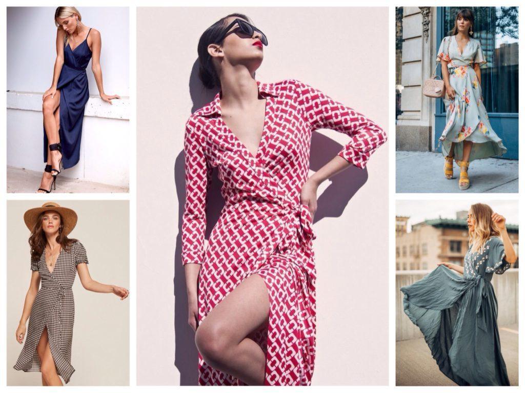 6b135ef48b5 Платье на запах и юбка с запахом  кому подходят и как носить