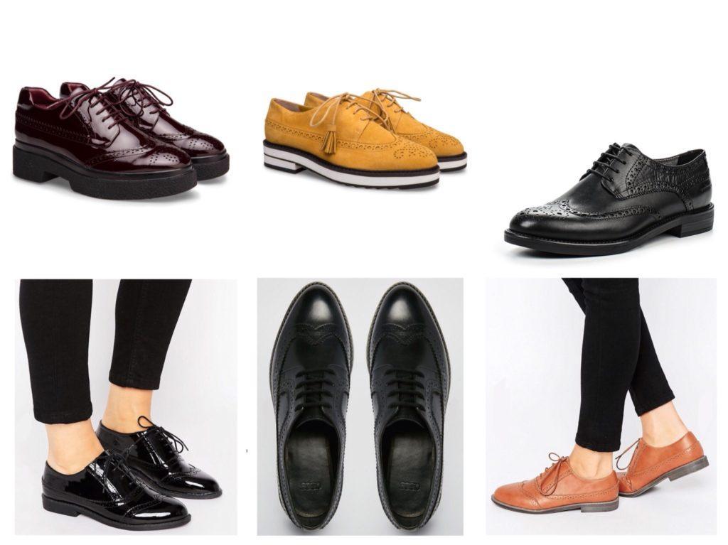 варианты ботинки броги