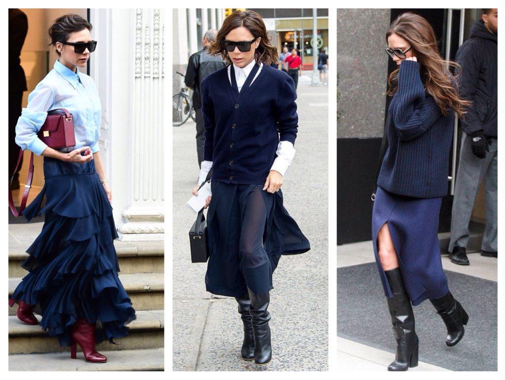 Комплекты с юбками Виктории Бекхэм