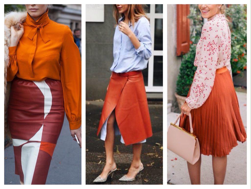 комплекты с юбками