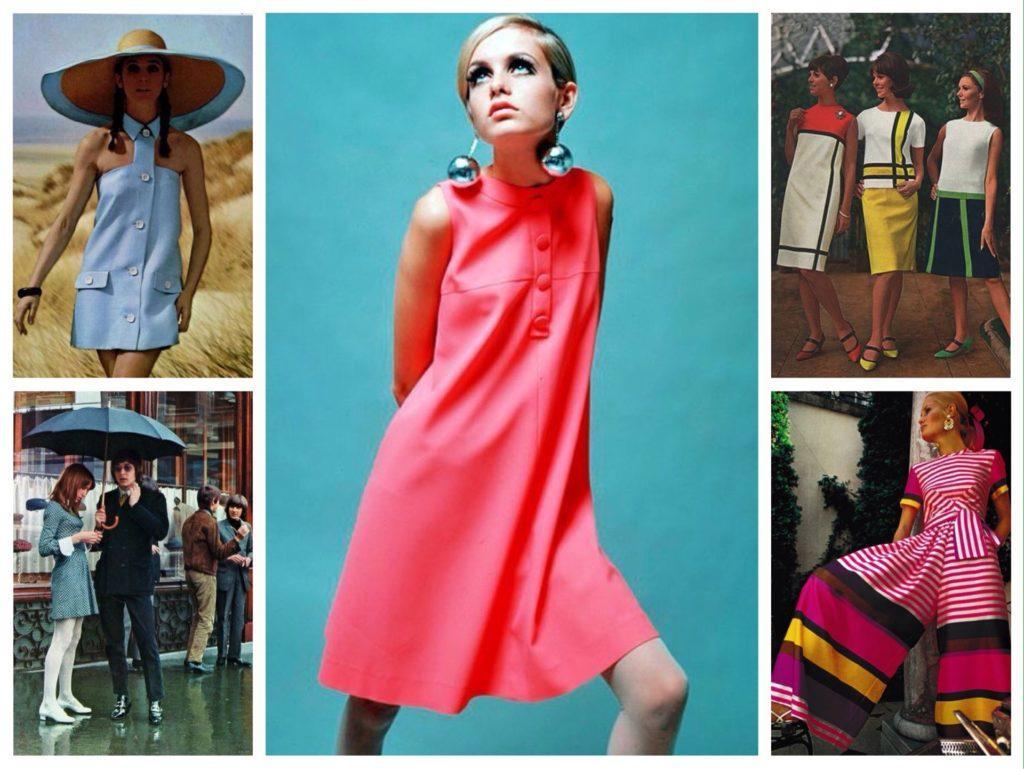 мода и стиль 60х годов