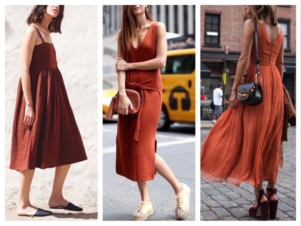 модели платьев для лета