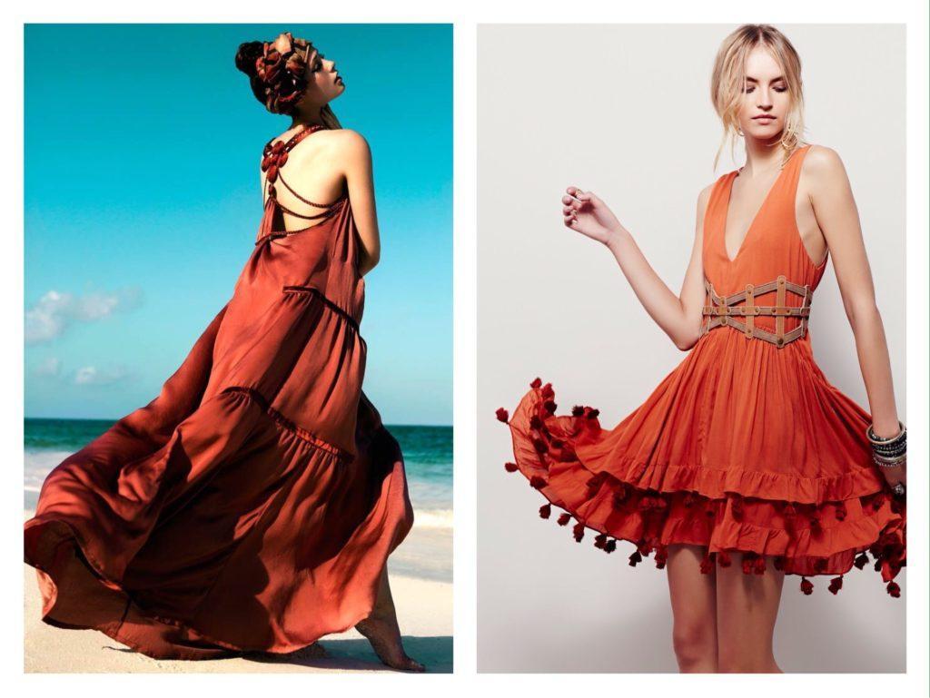 варианты платья для пляжного отдыха