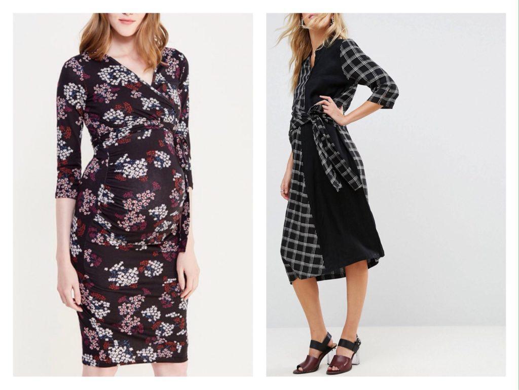 платье рубашка и платье с запахом
