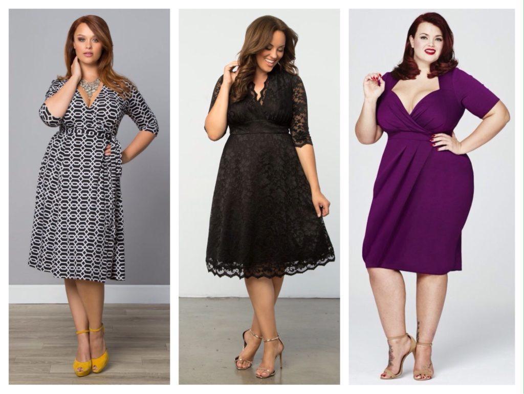 Одежда для полных женщин: составляем правильный гардероб
