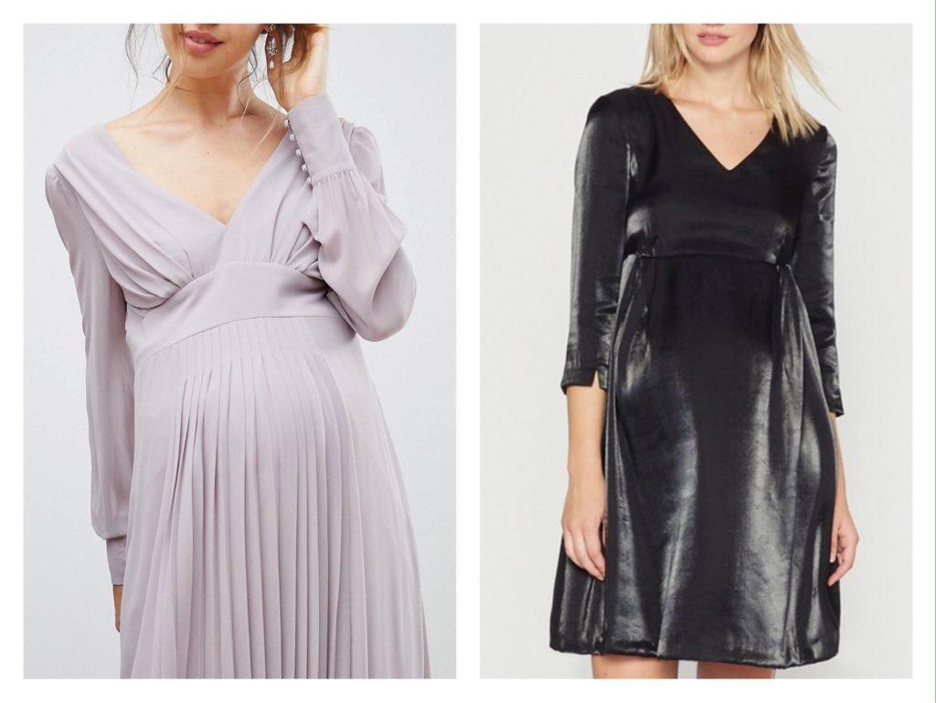платья для торжества в беременность